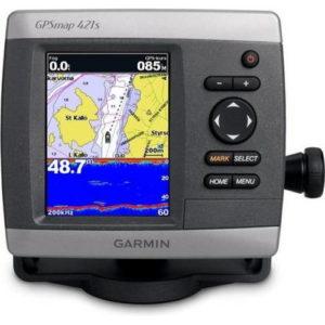 Картплоттер Garmin GPSMAP 421S, 4″