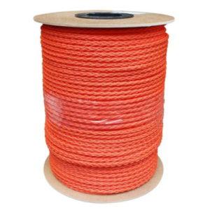 Полиэтиленовый трос, 10 мм. (оранжевый)