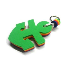 Плавающий брелок «Якорь» (зеленый)
