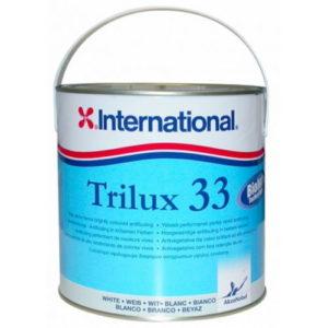 Необрастающая краска Trilux 33 (белая), 2.5 л.