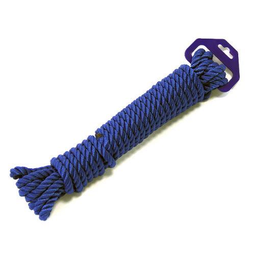 Трос 14 мм синий
