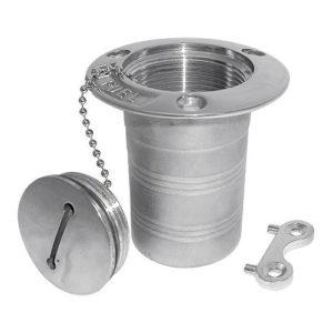 Палубная горловина Fuel (нержав. сталь)