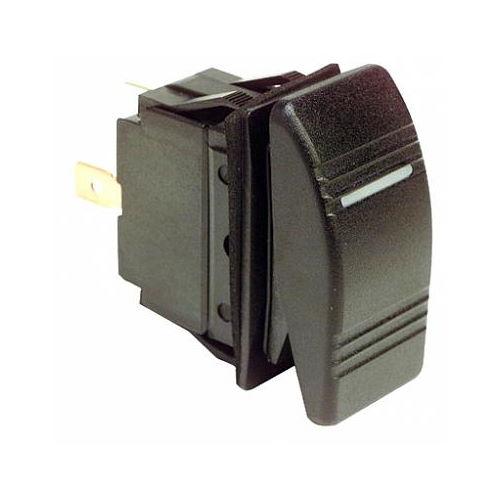 Выключатель двухпозиционный с подсветкой