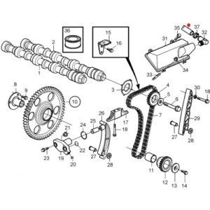 Шланг (трубка) Volvo Penta, 265 мм.