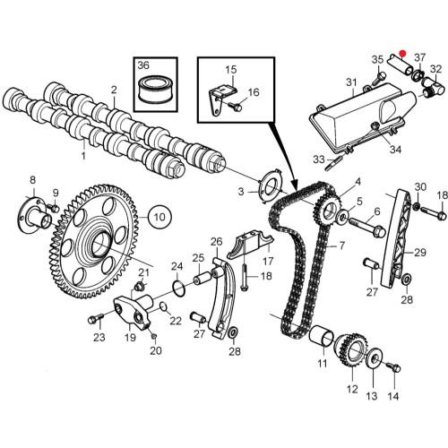 Шланг (трубка) Volvo Penta 265 мм.
