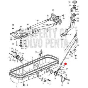 Ниппель для мотора Volvo Penta