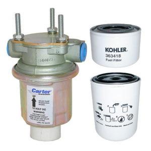 Топливный фильтр генератора Kohler