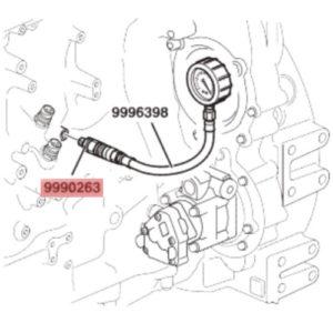 Ниппель Volvo Penta 9990263