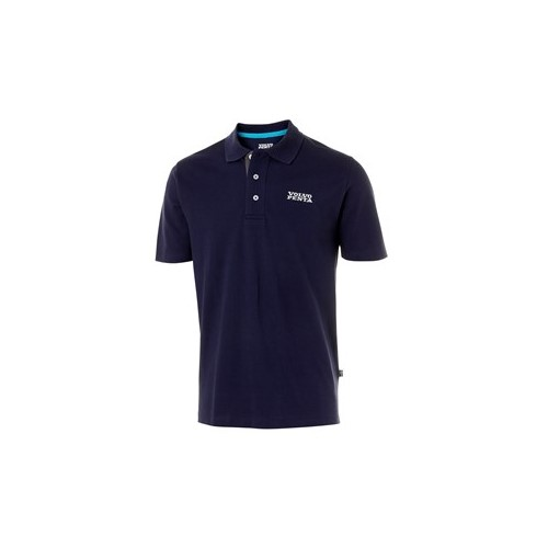 Футболка-поло мужская (синяя) VP