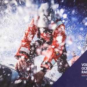 Наклейка на ноутбук Volvo Ocean Race