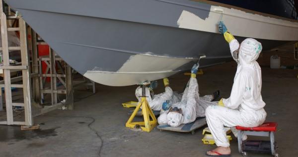 защита судна от обрастания