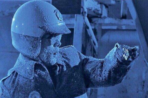Зимняя стоянка катеров
