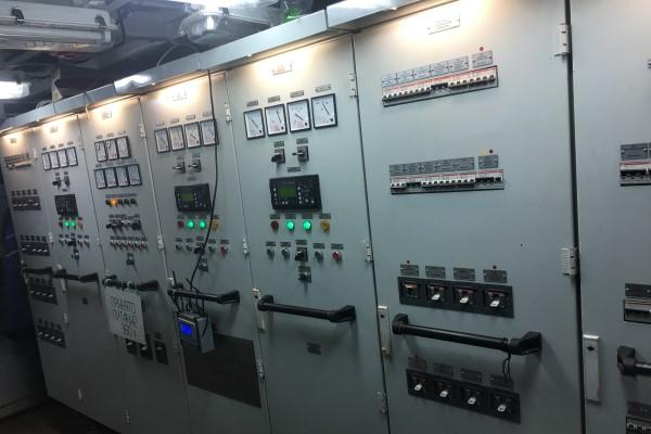 Панель контроля ДГУ
