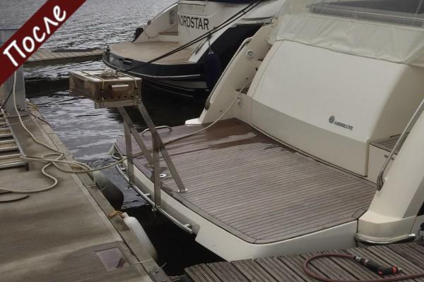 Мангал для катера